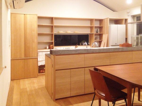 三重県伊賀市のお宅のキッチン。