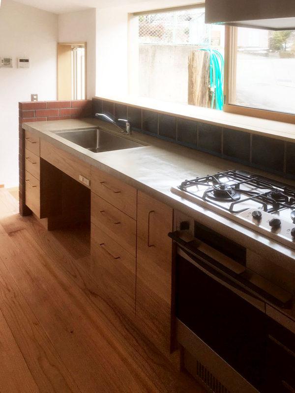 高山リノベーションキッチン