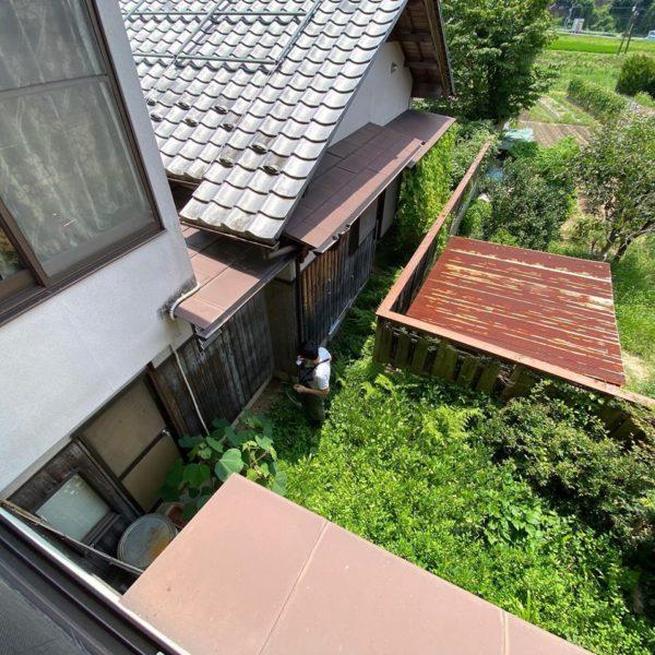 夏の建物調査